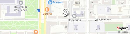 Тирекс на карте Магнитогорска