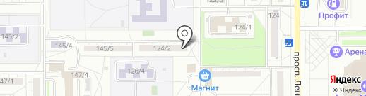52, ТСЖ на карте Магнитогорска