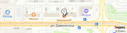 Форсаж на карте Магнитогорска