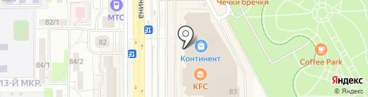 Павловопосадская платочная мануфактура на карте Магнитогорска