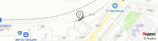 Красивый дом на карте Магнитогорска