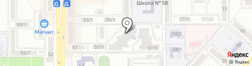 Комфорт, ТСЖ на карте Магнитогорска