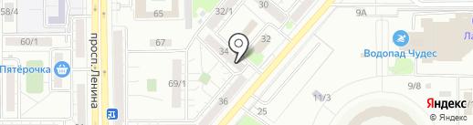 Paradise studio на карте Магнитогорска
