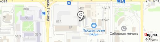 Марракеш на карте Магнитогорска