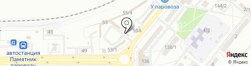 Строительная компания на карте Магнитогорска