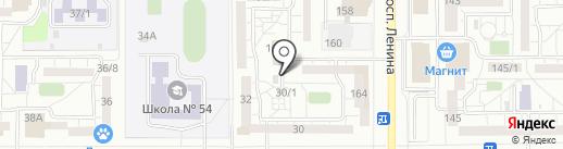 Магазин товаров для това на карте Магнитогорска