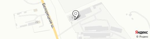 ТТМ на карте Магнитогорска