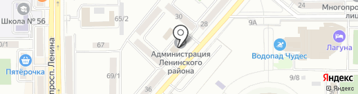 Приемная депутата Магнитогорского городского Собрания по избирательному округу №6 Морозова А.О. на карте Магнитогорска