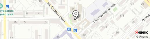 Управление ФСБ по г. Магнитогорску на карте Магнитогорска