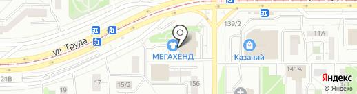 Автоматический полив на карте Магнитогорска
