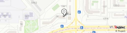 Жар-Птица на карте Магнитогорска