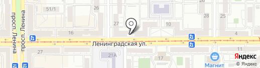 Магазин фруктов и овощей на карте Магнитогорска
