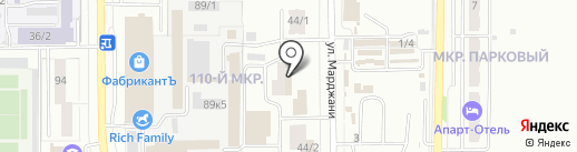 Авто Восток на карте Магнитогорска