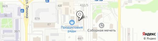 Магазин упаковочных материалов на карте Магнитогорска