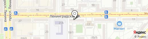 Nina Golovina на карте Магнитогорска