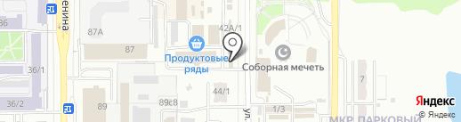 Хозяин на карте Магнитогорска