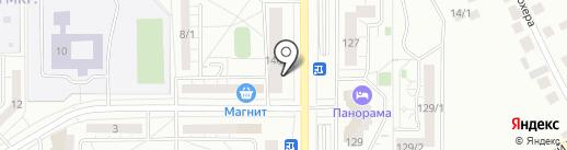 СТРИЖка на карте Магнитогорска