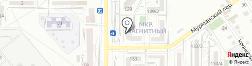 Студия моментального загара на карте Магнитогорска