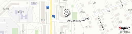 АБЗ-Универсал на карте Магнитогорска