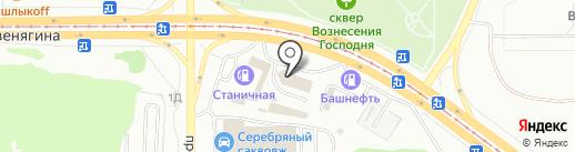 АВТОКЛУБ на карте Магнитогорска