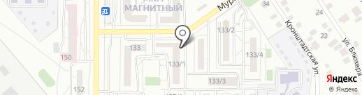 АКТИВ-ИНВЕСТ, КПК на карте Магнитогорска