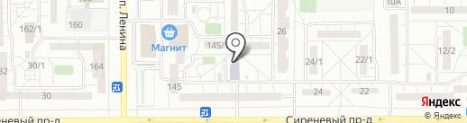 УЦТБ на карте Магнитогорска