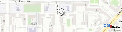 Сберкредит на карте Магнитогорска