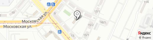 РЭУ №1 на карте Магнитогорска