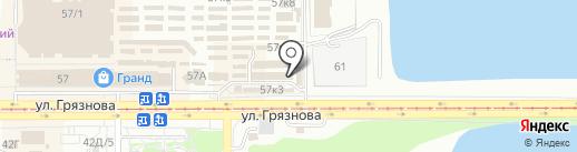 Магазин бижутерии на карте Магнитогорска