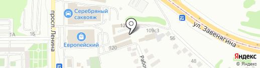 Старый город на карте Магнитогорска