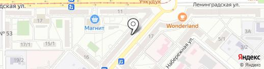 Мэрси на карте Магнитогорска