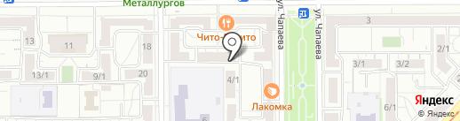 Урало-Сибирская Строительная Компания на карте Магнитогорска