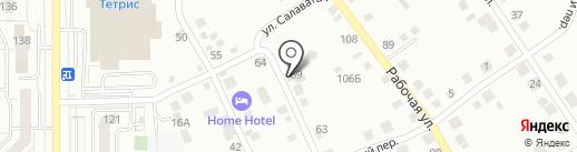 СТК-Строй на карте Магнитогорска