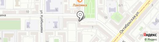 Торгово-сервисная компания на карте Магнитогорска