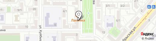 Сливовица на карте Магнитогорска