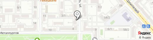Соэкс-Магнитогорск на карте Магнитогорска