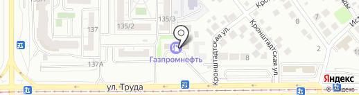 Транзит на карте Магнитогорска