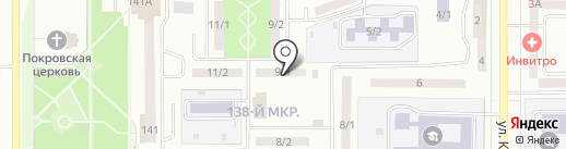 Искра, ТСЖ на карте Магнитогорска