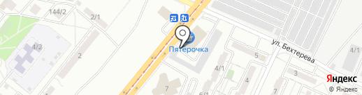 Слава на карте Магнитогорска