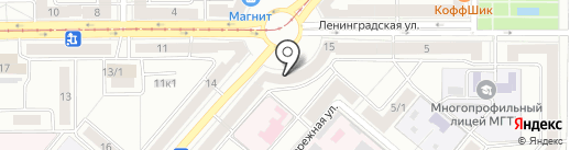 Уральский банк реконструкции и развития, ПАО на карте Магнитогорска