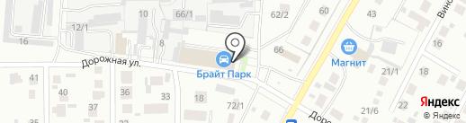 Инкомсервис на карте Магнитогорска