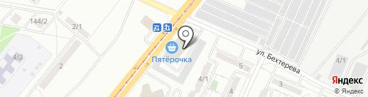 ТЕХДОК на карте Магнитогорска