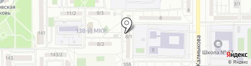 ТСЖ №85 на карте Магнитогорска