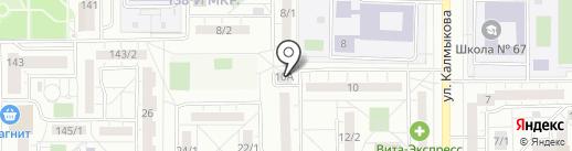 Продуктовый магазин на карте Магнитогорска