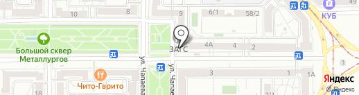Центр страхования на карте Магнитогорска