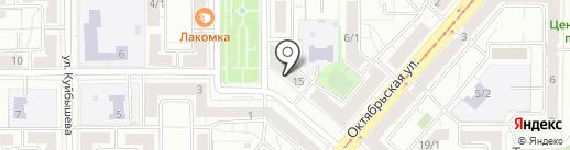 Пилигрим на карте Магнитогорска