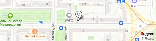 Сервисный центр по ремонту кофемашин на карте Магнитогорска