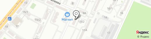 ПромСитиСтрой на карте Магнитогорска