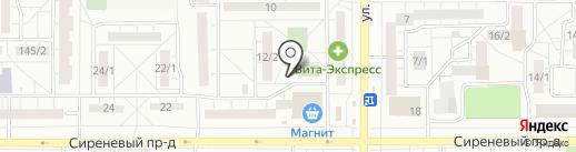 Комитет территориального общественного самоуправления на карте Магнитогорска