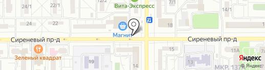 Марина на карте Магнитогорска